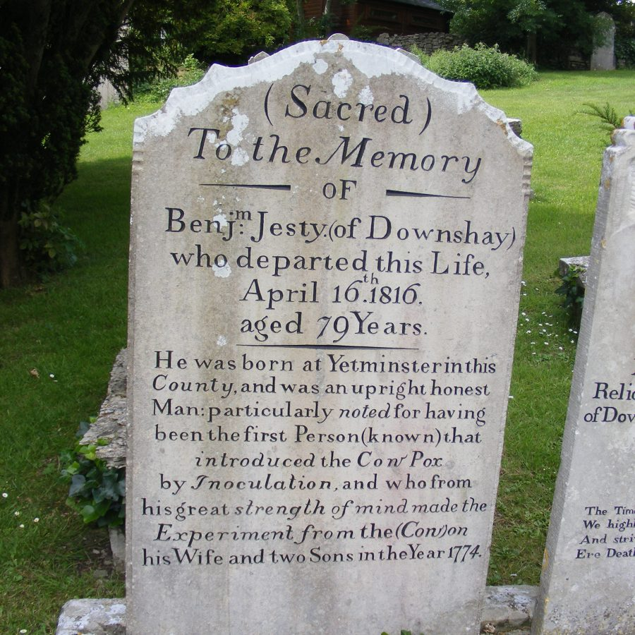Worth Matravers - Gravestone of Benjamen Jesty